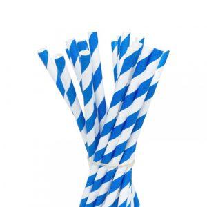 palhinhas azuis papel