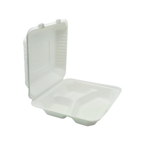 Embalagem fibra de cana de açúcar Porta Menu   JHGOMES